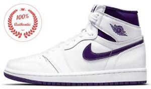 (W) Jordan 1 Retro High Court Purple CD0461-151 university hyper mocha shadow 85