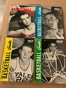 Lot Of 4 Official NCAA Basketball Guides. Years 1953,1956,1957,1959