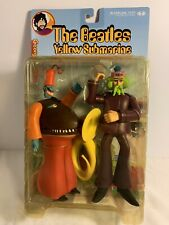 BEATLES GEORGE HARRISON WITH SNAPPING TURK  YELLOW SUBMARINE MCFARLANE FIGURES