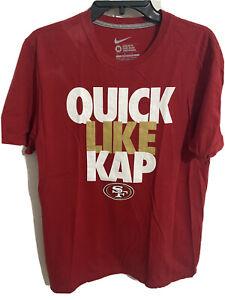 Nike Quick Like Kap - San Francisco 49ers Colin Kaepernick T-Shirt  - Medium