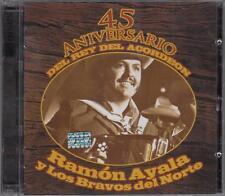 Ramon Ayala y Los Bravos del Norte 45 Aniversario del Rey del Acordion 2CD NEW