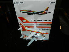 Schabak 1:600 Scale Diecast 925-152 Air Belgium Boeing 737-400 New in Box
