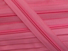 ZN05A-J5 20yards #5 PINK (815) Nylon coil continuous zipper Nylon zip tape chain