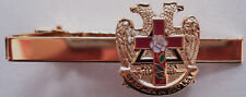 ROSE CROIX Masonic Eagle Scottish Rite Tie Bar Clip