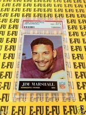1965 Philadelphia JIM MARSHALL PSA 8 NM-MT #107 Minnesota Vikings PSA 8.5?