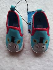 BNWT Baby Boy's Thomas & Friends Soft Soled Shoes Size 4