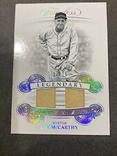 2019 Panini Flawless Baseball Joe McCarthy Dual Legendary Jersey Silver SP 13/25
