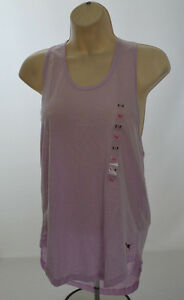 Victorias Secret Pink Twist Back Racer Back Athletic Tank Top S Small
