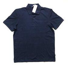 NWT Calvin Klein Men's Lightweight Polo Shirt Navy Blue, Size L Large