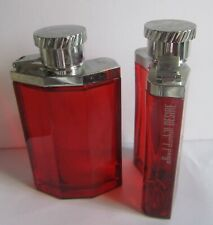 2 Bottles Dunhill Desire Red 3.4oz Men's Eau de Toilette