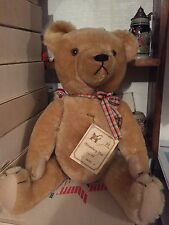 Vintage Teddy Bear Hermann Original, Sonneberg-Bar, Mohair, West Germany, 1922