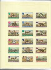 Maluku virtually complete collection mint inc all triangles, unlisted (I116)