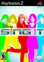 Disney Sing It - PlayStation 2 - Video Game By Artist Not Provided - VERY GOOD