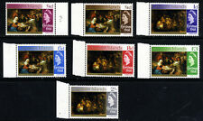 CAYMAN ISLANDS QE II 1968 The Complete Christmas Set SG 215 to SG 221