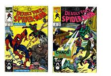 The Deadly Foes of Spider-Man #1-4 Set (1990-91) Marvel Avg. VF/NM to NM-