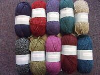 5 x 100g Sirdar Harrap Tweed Chunky with Wool Wool/Yarn for Knitting/Crochet