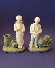Antike Bisquit porzellan figurengruppe Erntendank beschädiegt