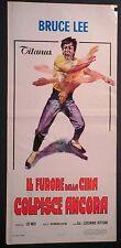 Locandina IL FURORE DELLA CINA COLPISCE ANCORA 1972 BRUCE LEE TITANUS