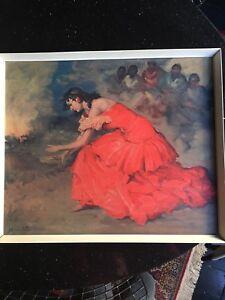 The Fire Dance F R S Clemente Tretchikoff Lynch Shabner Era