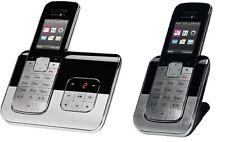 T-Sinus A806 Duo m 2 Mobilteilen Schnurlos Telefon Anrufbeantworter Schnurloses