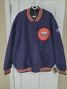 Mitchell & Ness 1969 Houston Astros Cooperstown Collection Wool Varsity Coat 4xl