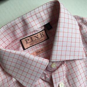 "Thomas Pink Molyneux Shirt, 16"" Collar BNWT, RRP £120  Slim Fit"