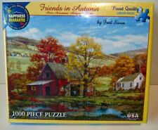 White 189PZ Mountain Friends in Autumn Puzzle - 1000 Pieces