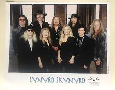 """Lynyrd Skynyrd - 2 X Original Promo 8"""" X 10"""" Photographs"""