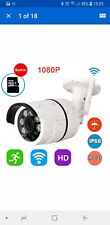 Outdoor Wireless CCTV Security IP Camera 2.0MP WIFI 1080P FHD Night Vision Cam