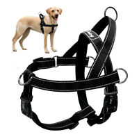 Hundegeschirr Mittelgroße Grosse Hunde No-pull Reflektierend Schwarz K9 Pitbull