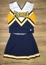 FLORIDA Cheerleader Uniform Outfit Costume 36/27 Real Sunshine State Vacation
