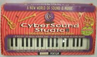 Cybersound Studio Computer MIDI Musical Keyboard Set - UNUSED in Original Box