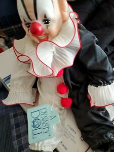 Vintage Dynasty doll collection clown