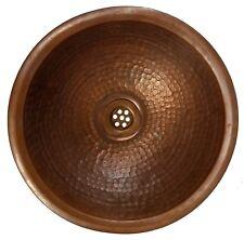 Hammered Bronze Rustic Bathroom Copper Dome Sink Kitchen Construction Washbasin