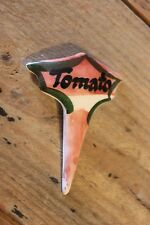 Vintage Toni Raymond Pottery Sandwich Marker – Tomato – Kitchenalia – Great! –