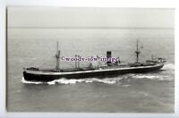 c3576 - Clan Line Cargo Ship - Clan Mackinnon , built 1945 - photograph