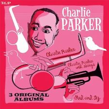 CHARLIE PARKER - BIRD AND DIZ+CHARLIE PARKER+PARKE 2 VINYL LP NEW+
