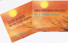 J. VERNON MCGEE- Faith In Jesus & Prophecies Revealed - 6 CDs