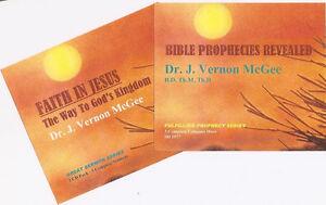 J. VERNON MCGEE- Faith In Jesus & Prophecies Revealed - 6 CDs