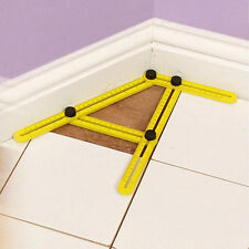 Multi-Angle Ruler Template Hand Tool Tile Floor Measuring Instrument Home Tool