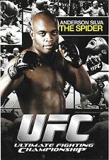 Anderson Silva 4x6 2010 UFC Promo Bio Photo Card 183 168 162 153 148 134 126 117