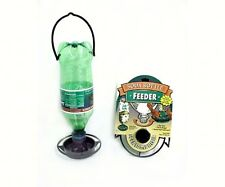 Lot of 2, Gadjit BIRD FEEDERS, ATTACHMENTS FOR RECYCLING SODA POP BOTTLES