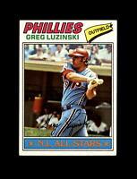 1977 Topps Baseball #30 Greg Luzinski (Phillies) NM-MT