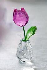 SWAROVSKI CRYSTAL FLOWER DREAMS PINK TULIP 5254316 MINT BOXED RETIRED RARE
