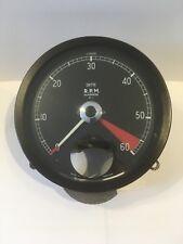 Jaguar XK120 140 Tachymètre Tachymètre en bon état de fonctionnement avec garantie