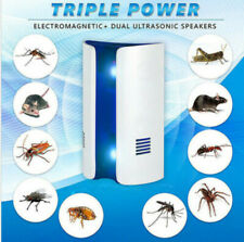 LED Electric Fly Insect Bug Pest Mosquito Trap Zapper Killer Night Camp Lamp