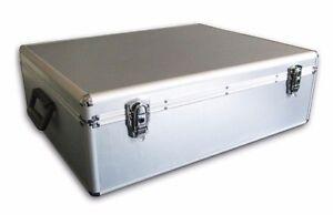 1 Mediarange Aluminium 1000 CD DVD DJ Flight storage case numbered sleeves BOX78