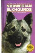 Norwegian Elkhounds by Anna K. Nicholas (1983, Hardcover)