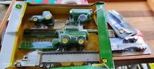 John Deere Tractor Toy Set