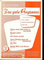 """ Das gute Programm "" Heft 36 - Künstlerexemplar"
